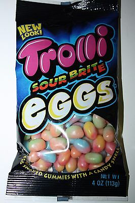 2 x Trolli Sour Brite Eggs 113g bag