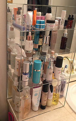 $$ BATHROOM ORGANIZER $$Acrylic Cabinet 12 x 7 x 22.5 (different shelf spacing)