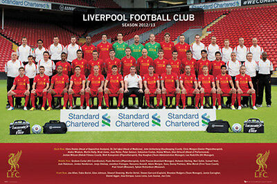 Liverpool Fc 2012/13 POSTER (61x91cm) Picture Print New Art