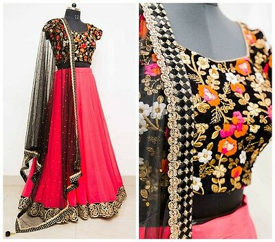 ACTUAL PICS LISTED-Indian Designer Bollywood Pakistani Elegant  Lehenga