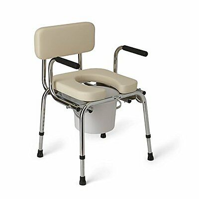 Commode Arm Patients Wheelchair Bed Night Medical Equipment Care Accessory Bath