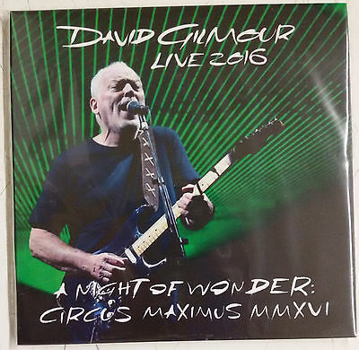 David Gilmour A Night Of Wonder: Circus Maximus MMXVI 3-CD