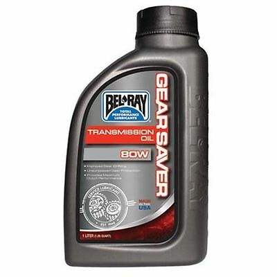 Bel Ray Gear Saver Transmission Oil 75w 1L - Motocross - Road - Gear Protection