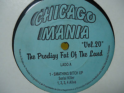 The Prodigy Fat Of The Land Best Of Brazil Extremely Rare Record Vinyl Album