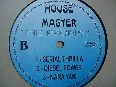 The Prodigy Best House Master  Brazil Extremely Rare Record Vinyl Album