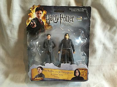FREE POST CARDED Harry Potter SEVERUS SNAPE & TOM RIDDLE POPCO ACTION FIGURES