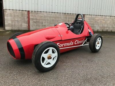 Formula Classic single seat racing car track day car rolling chassis project