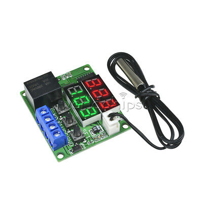 Dual LED DC 12V Multi-function Cycle Timer Relay Module Delay Time Switch