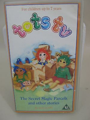 Tots Tv - The Secret Magic Parcels And Other Stories - Itv  - Vhs