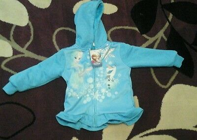 Children's Frozen Fleece Hoodie 3-4 years