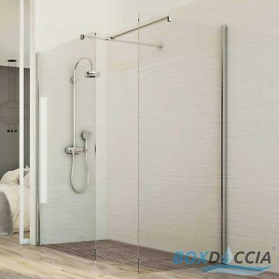 Shower Screen Enclosure Walk In Clear Glass 8Mm H198