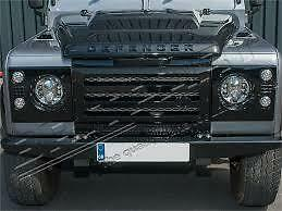 Land Rover Defender Xd Front Grill And Surround Kit In Black Da1968 (Not Kbx)