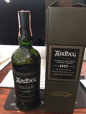 Whisky Ardbeg 1977  cl 46% vol no box limited edition