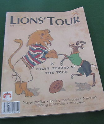 British Lion's Tour to South Africa 1997 - Official SARFU Tour Guide