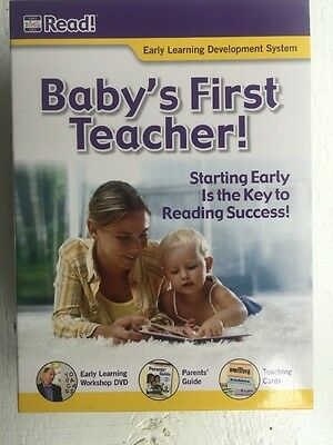 Baby's First Teacher Your Baby Can Read Early Learning Development System DVD