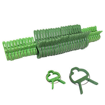 Evelots 40 PC Gentle Plant & Flower Clips For Supporting Stems