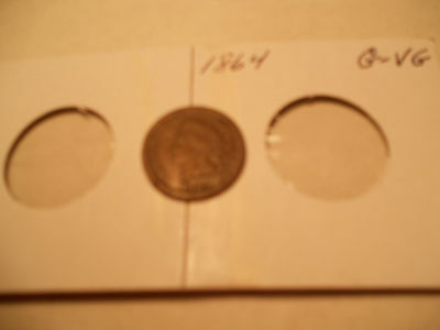 1864 Indian Head Cents