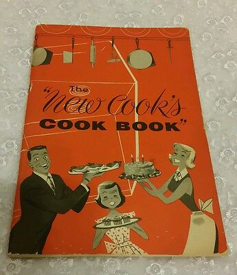 The New Cook's Cook Book Edison Electric Institute 1953 5th Edition Revised