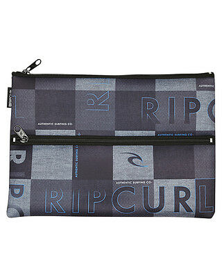New Rip Curl Large Pencil Case Neoprene Gifts Grey