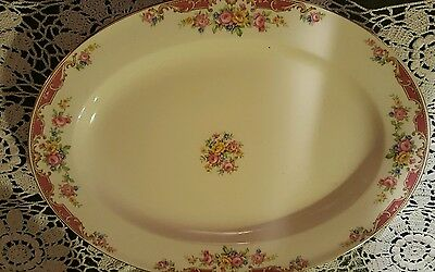 Edwin M.Knowls vintage shabby chic platter