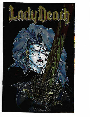 Lady Death #1 (Jan 1994, Chaos! Comics) Chrome Cover 1st print The Reckoning NM