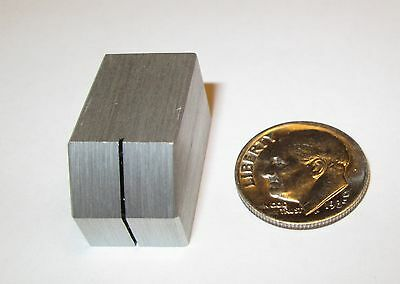 "Solid Aluminum Switch Knob For 1/4"" Shaft W/line"