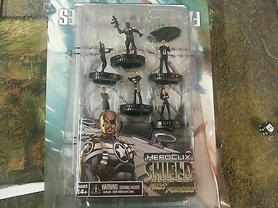 Marvel HeroClix SHIELD Fast Forces pack BRAND NEW