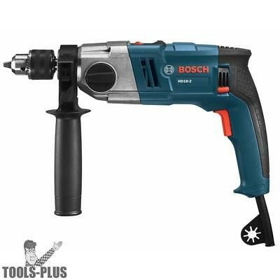 "1/2"" 2-Speed Hammer Drill Bosch Tools HD18-2 New"