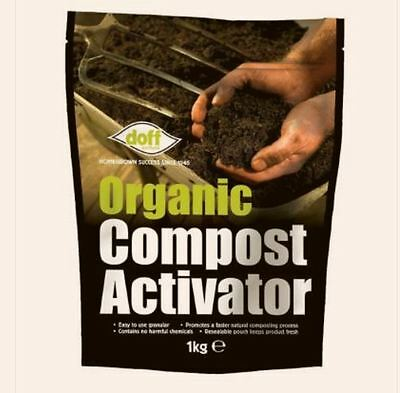 Brand New Doff 1Kg Organic Compost Activator `