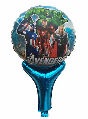Lot Avengers Inflatable Air Hand Balloons Birthday Party Decorations Supply UK