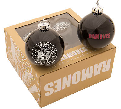 Ramones - Christmas Baubles - Set of 4 Baubles