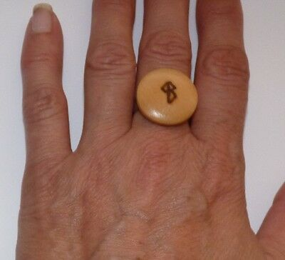 SUCCESS Bind Rune Adjustable Ring.