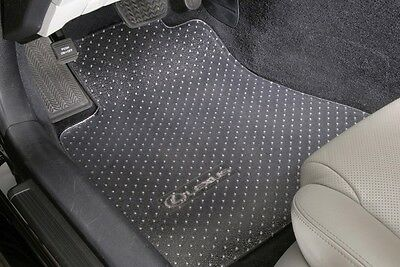 3-Piece Set - CLEAR VINYL-Heavy Duty Floor Mat Protectors - CUSTOM - GMC Pickups