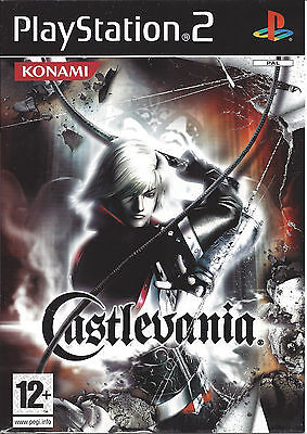 CASTLEVANIA for Playstation 2 PS2 - with box & manual - PAL