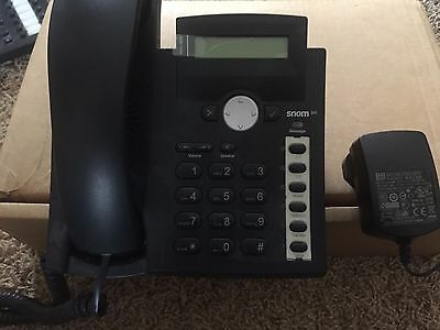 SNOM 300 IP Telephone With UK Power Supply
