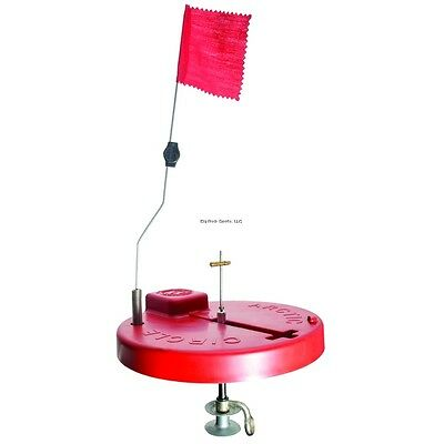 """NEW Beaver Dam 10"""" Round Thermal Tip Up-Red BD10 RD"""