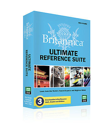Encyclopedia Britannica Ultimate Reference Suite - latest version