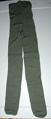 Girls Green Mesh Tights age 11-12 years NEW