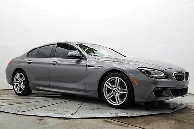 2015 BMW 6-Series 640i xDrive Gran Coupe AWD Auto Gran Coupe Nav M Sport Edition Cold Wthr LED Bang & Olufsen 8K Save