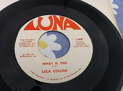 Lula Collins - Rare Gospel - What Is This - Luna Label - Played Once -