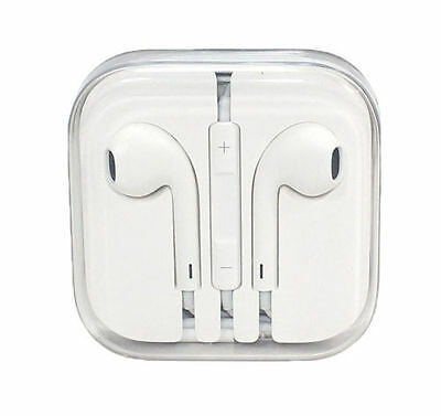 Genuine Apple MD827LL/A Earpods, Earphones for iPhone 6 5 4S w' Remote & Mic NEW
