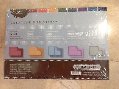 Creative Memories Milestones Album Kit Christmas Jewel And Primary Nip