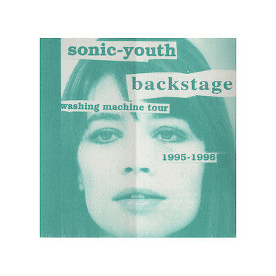 Sonic Youth Green Backstage 1995-1996 Backstage Pass