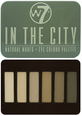 W7 Eyeshadow Palette - In The City - With Applicator Makeup