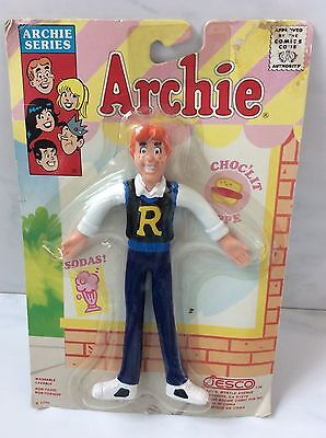 Jesco 1330 Archie Series Bendable 1989 Figure Vintage New In Package
