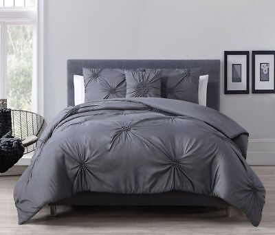 8 Piece Paige Charcoal Gray Bed in a Bag Set