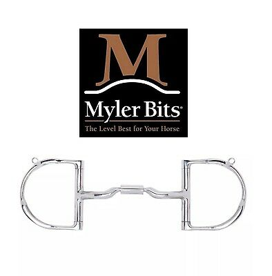 """Myler Dee Snaffle w/Hooks and Low Port - 5"""" NWT"""