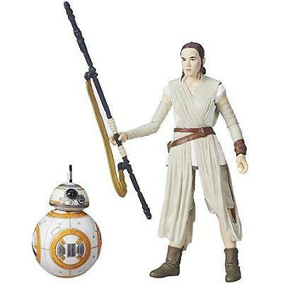 NEW STAR WARS The Force Awakens BLACK Series 6 Inch Figure REY & BB-8 TOMY