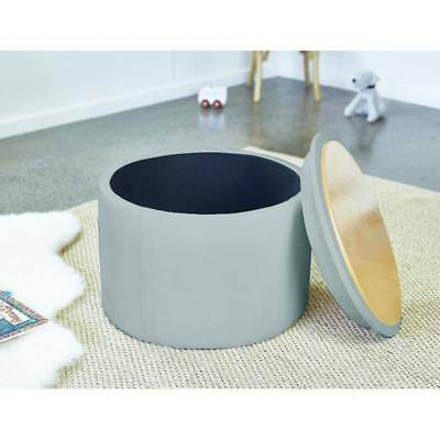 New Kids Childrens Toddler Grey Toy Storage Chest Box Activity Table Chair