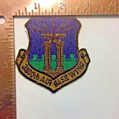 USAF 3800th AIR BASE WING PATCH (AFF-2)